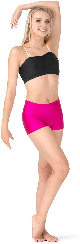 Adult High Waist Dance Shorts N8641