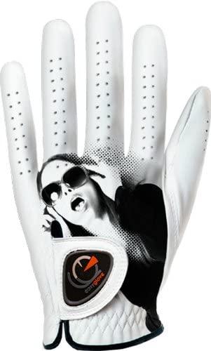 easyglove Fashion_FACE-W Women's Golf Glove (White)