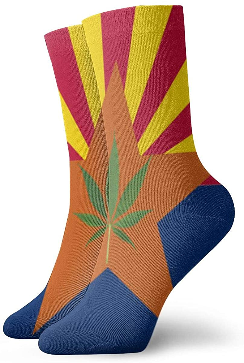 Game Life Crew Socks Arizona State Flag Men Women Sock Casual Socks