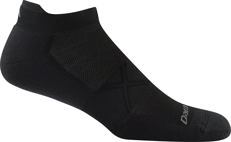 Darn Tough Vertex No Show Tab Ultralight Sock - Mens Black Medium