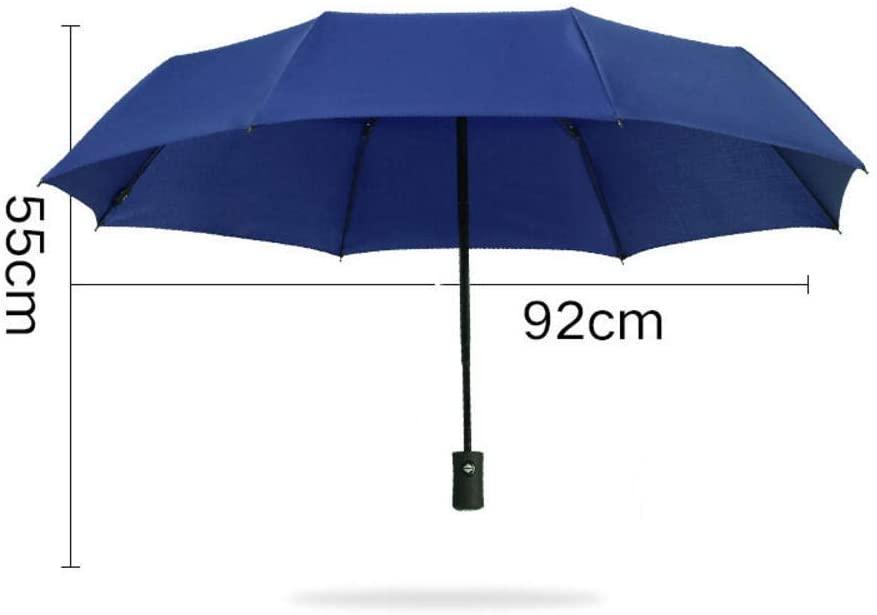 N/P Umbrella Fully Automatic Folding Umbrella Men Women UV Protection Travel Windproof Umbrella