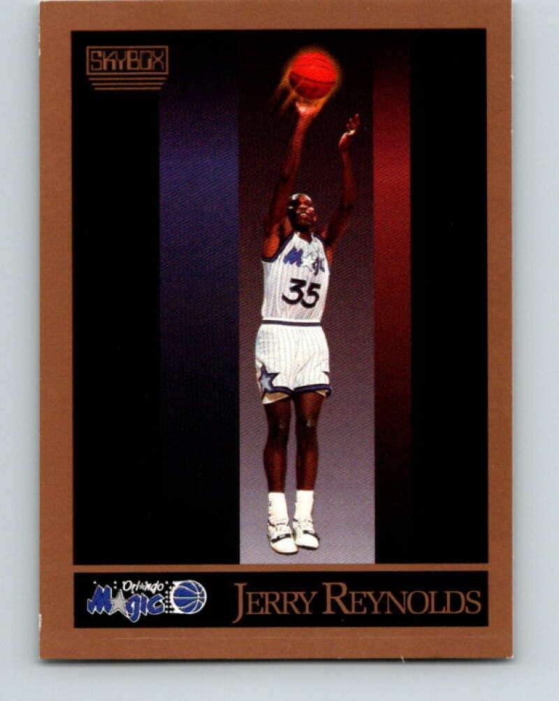 1990-91 SkyBox #204 Jerry Reynolds Mint Basketball NBA Magic