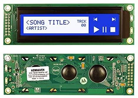 Newhaven Display NHD-19232WG-BTMI-V#T LCD Graphic Display Modules & Accessories 192 x 32 STN-Blue(-) 116.0 x 37.0