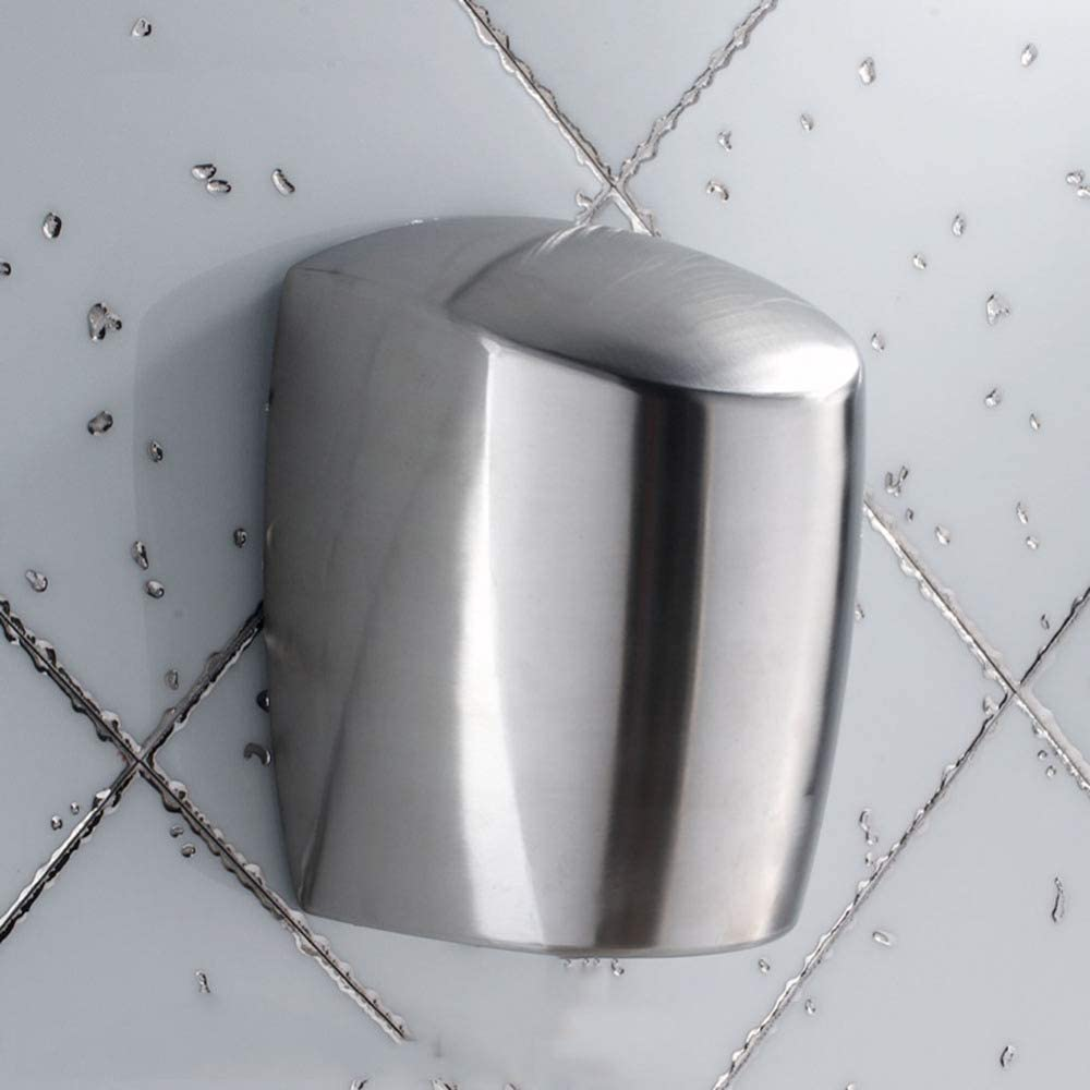 XYYZX Hand Dryer for Toilets High Speed Automatic Electric Heavy Duty Stainless Steel Commercial, Powerful Wall-mounting Fast Hand Drying in 8 Seconds, Great for Cafes, Bars, Office