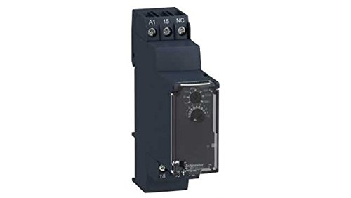 Schneider RE22R1KMR Off-delay Timing Relay - 0.05s…10min - 24… 240V AC/DC - 1C/O