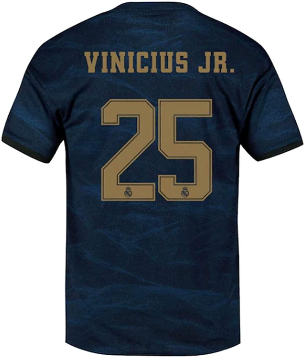 LISIMKEM Vinícius Júnior #25 2019-2020 Men's Away Soccer Jersey/Short Colour Navy