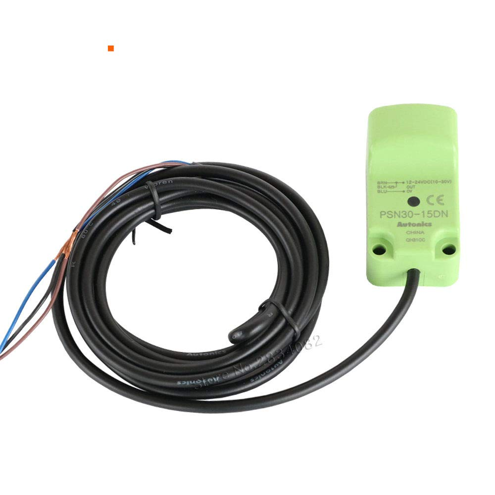 IP67 12-24VDC 15mm inductive Proximity Switch PSN30-15DN NPN 3wire Square DC Approach Sensor NO for Iron
