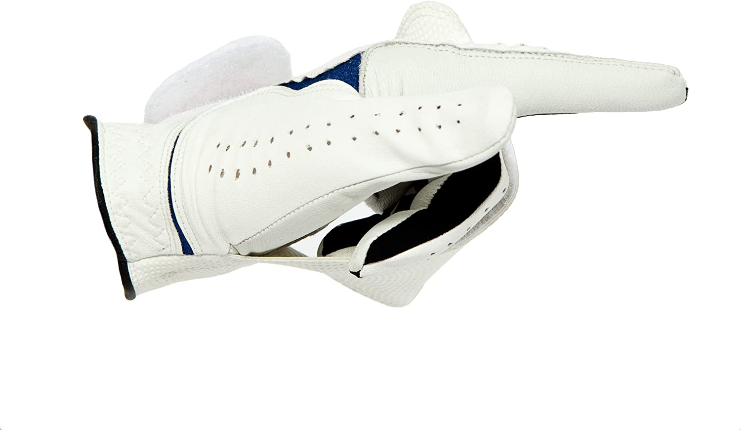 NEW! Awesome Innovative Golf Glove for Adults - Cabretta Leather - X-Large - White - Right - Mens