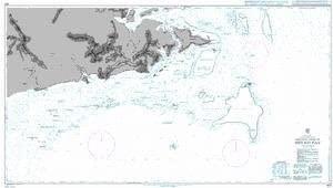 UKHO BA Chart 1681: Northern Shore of Sibuko Bay