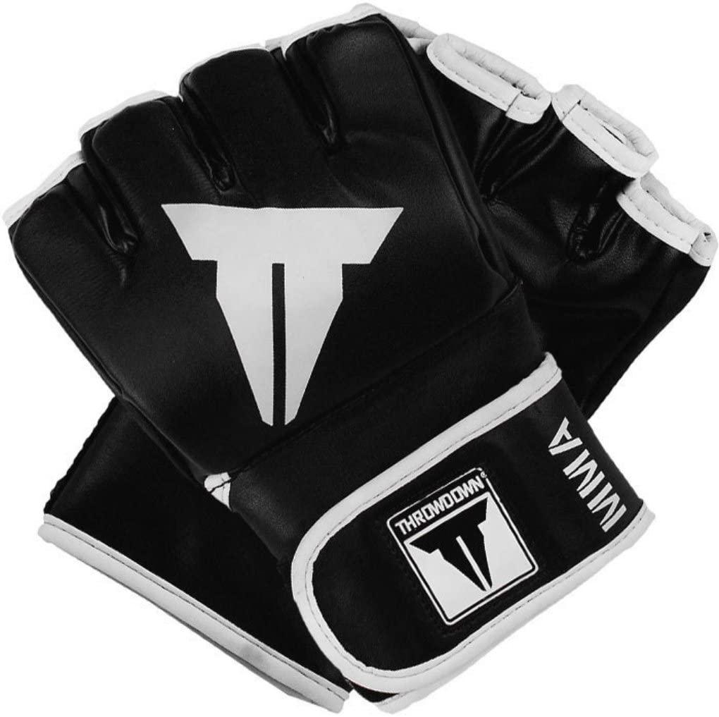 Throwdown Traditional MMA Gloves (Black)