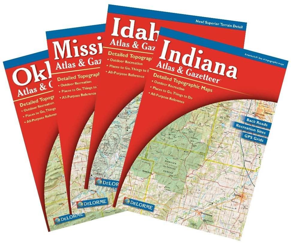 Delorme Missouri Atlas and Gazetter
