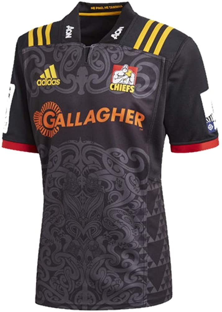 adidas Chiefs Home SS Rugby Jersey