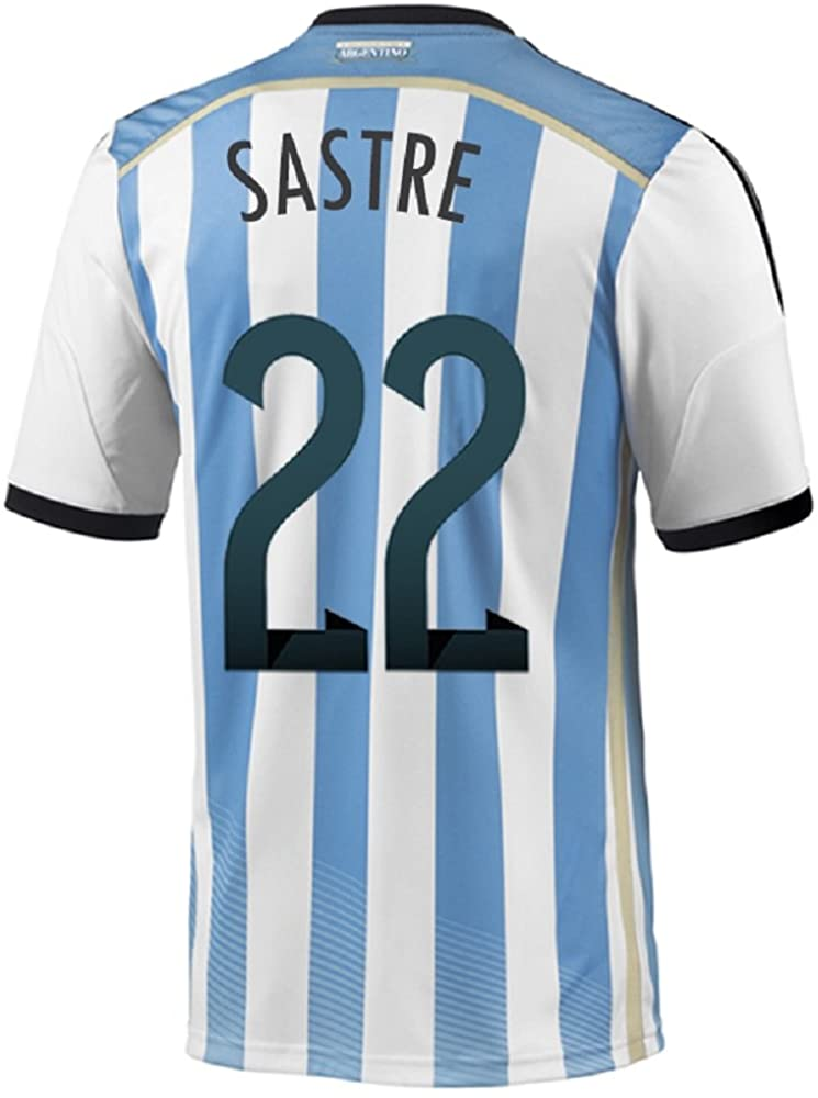 adidas SASTRE #22 Argentina Home Jersey World Cup 2014
