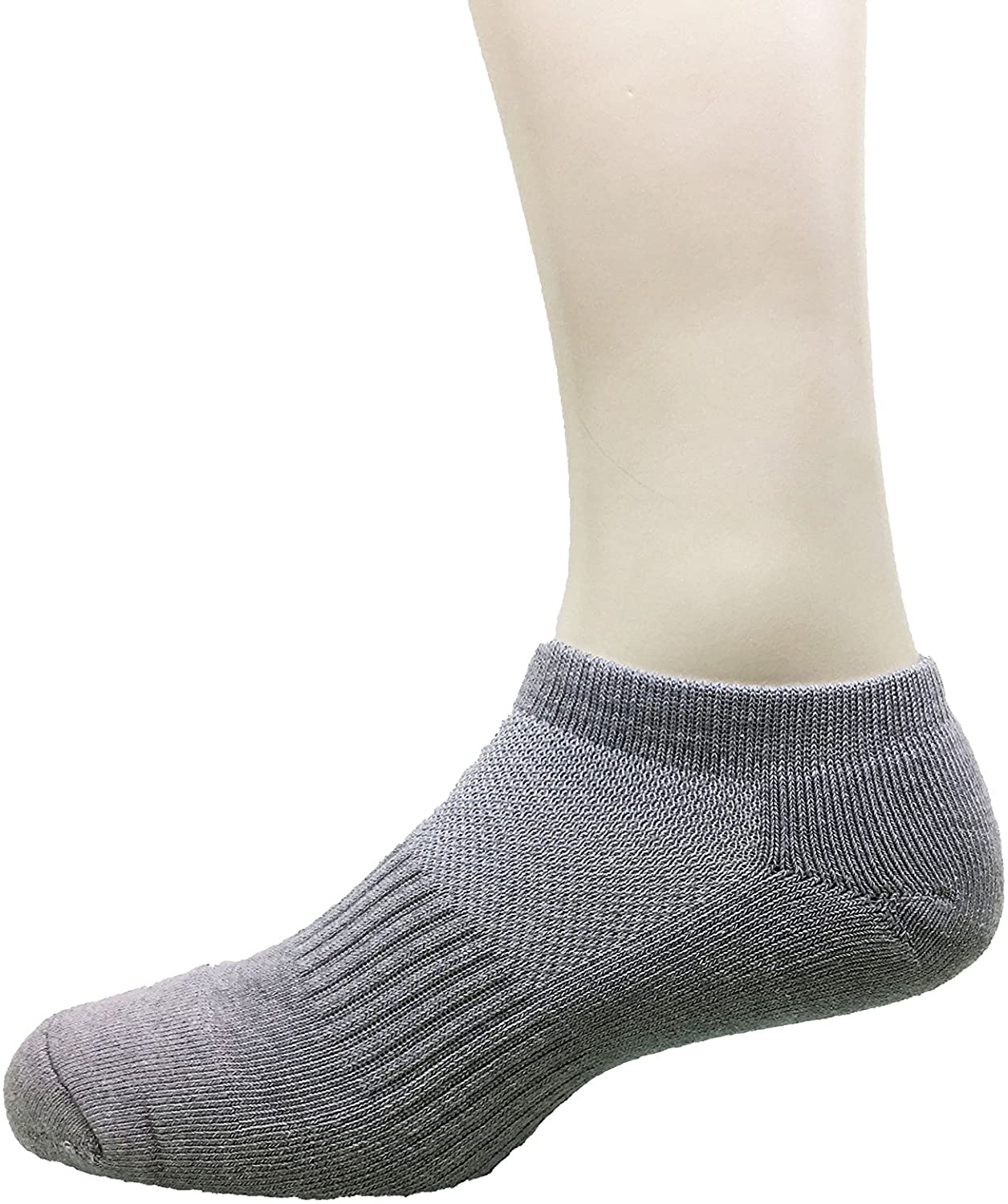 Kuan Yang Low Cut Sock Bamboo Charcoal Exercising No Show Socks for Men and Women