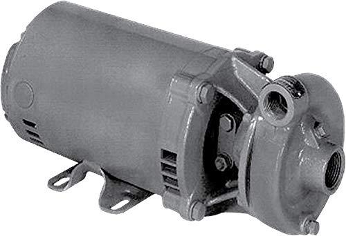 MP Pumps 35125 Series 30 End Suction Centrifugal Pump, Cast Iron, PumPak, C Frame Motor, Right Hand Rotation, 5/8