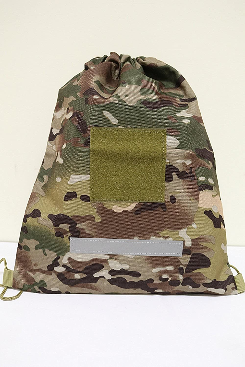 ARMYCAMO Tactical Heavy Duty Drawstring Backpack Army Military Sack 08059
