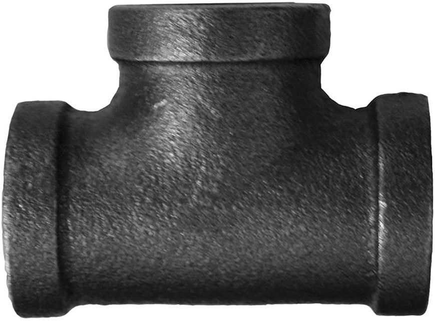 Jones Stephens Corp - 1-1/2 X 1-1/4 Reducing Tee Black
