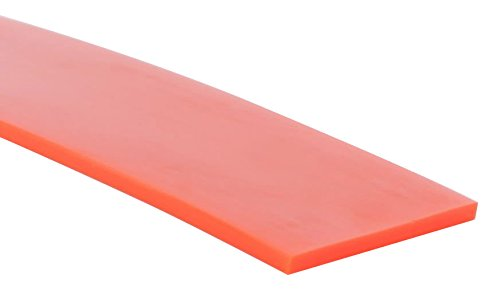 MJ May 61-1.50-OF-100 1-1/2' Wide.090' Thickness, Orange Flat Belting, 100'.090