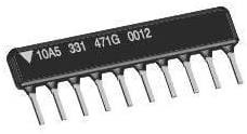 Resistor Networks, Arrays 10pin 3.9Kohms 2% Bussed, Pack of 100
