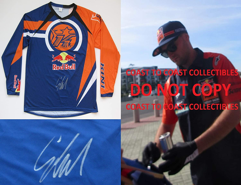 Cooper Webb Supercross, Motocross signed, autographed KTM jersey.exact proof COA
