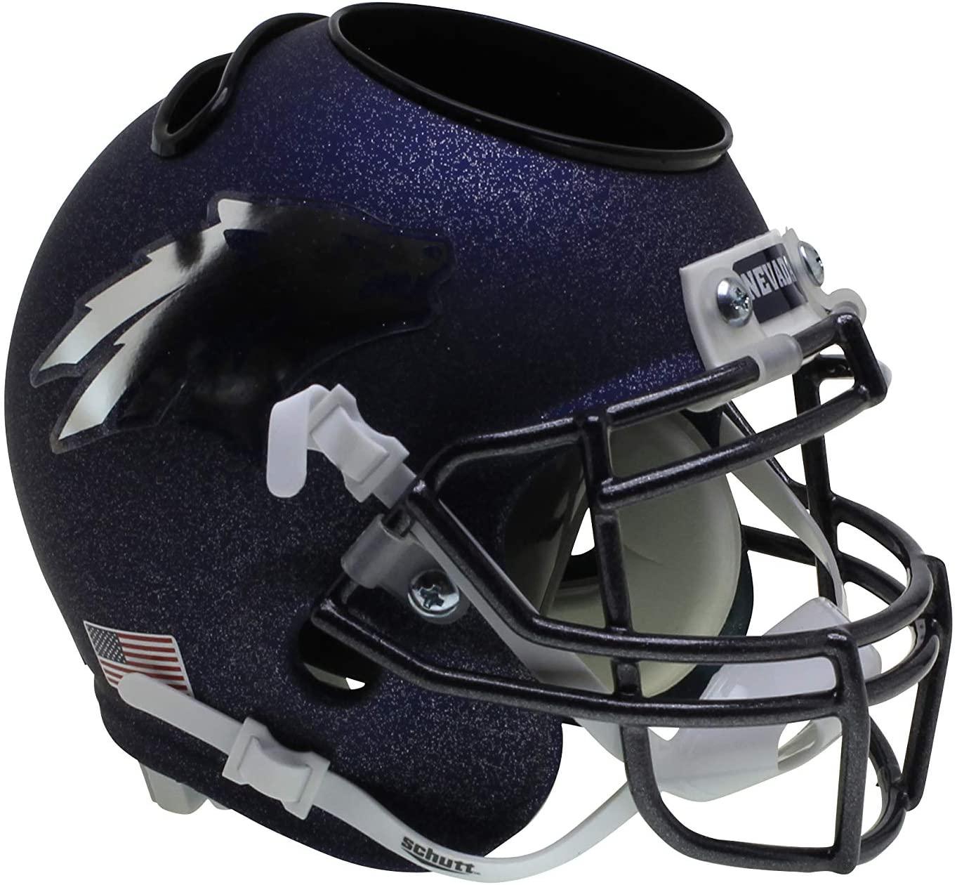 Schutt NCAA Nevada Wolfpack Football Helmet Desk Caddy