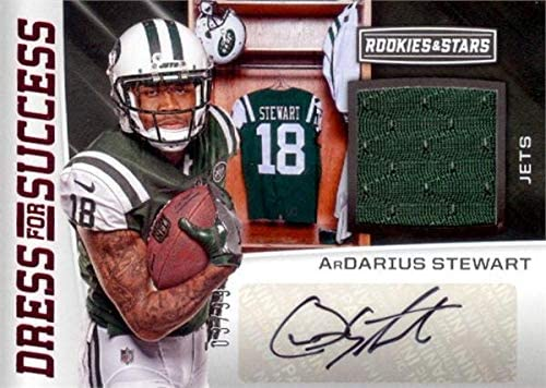 Ardarius Stewart Autographed Jersey - player worn patch card 2017 Panini Rookies & Stars Dress for Success #DSAS LE 3 99