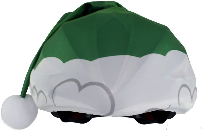 Christmas Elf Helmet Cover for Snowboard Cycling