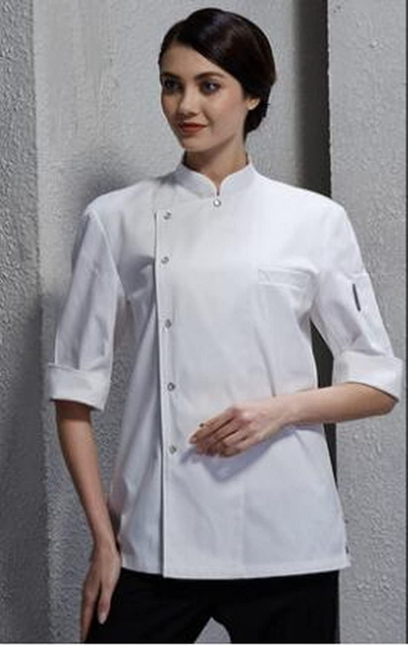 geranjie Chef Workwear Long Sleeve Cloth Uniform Fall Hotel Kitchen Apparel Bakery Western Cuisine Apron Women