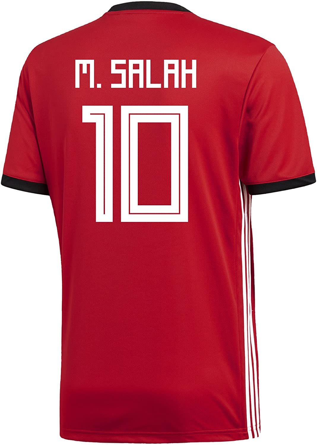 adidas M. Salah #10 Egypt Home Men's Soccer Jersey World Cup Russia 2018
