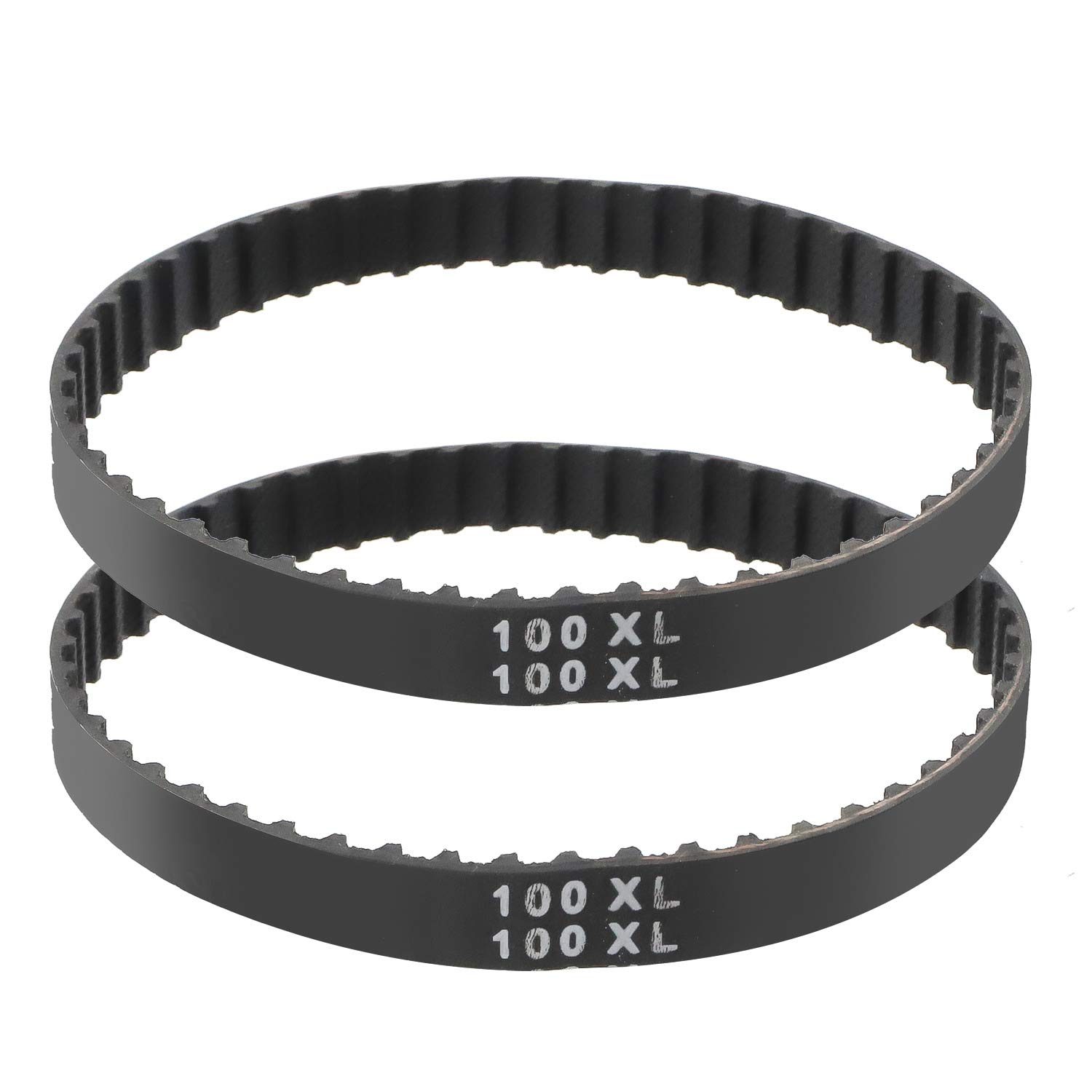 TOPPROS 100XL Series Width 3/8 inch Industrial Timing Belt,Pack of 2