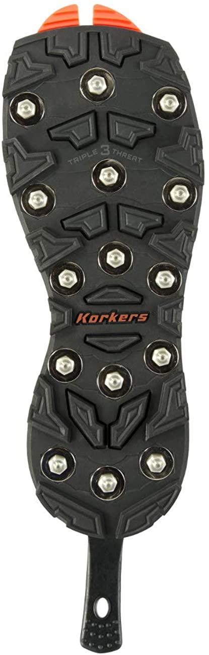 Korkers OmniTrax v3.0 Triple Threat - Carbide Spike