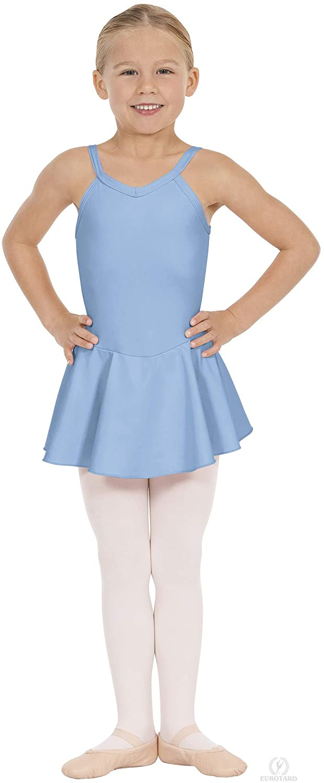 Eurotard Girls Camisole Dance Dress with Tactel Microfiber - 44453