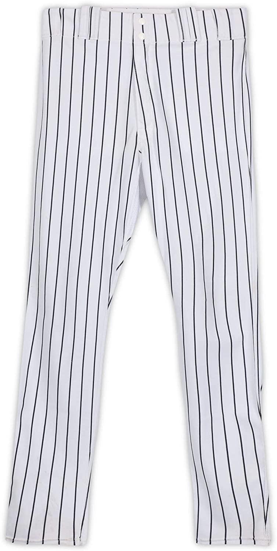 Jordan Montgomery New York Yankees Game-Used #47 White Pinstripe Pants from the 2017 MLB Postseason - Fanatics Authentic Certified