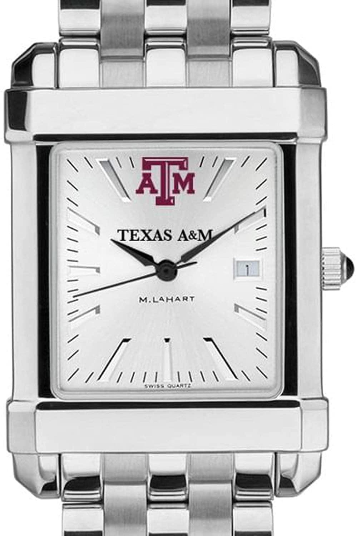NCAA Texas A&M Men's Collegiate Watch w/ Bracelet by M.LaHart