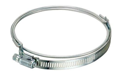 Kuriyama DCLPR1000 Ducting Hose Clamps, Bridge Style, Stainless Steel, 10