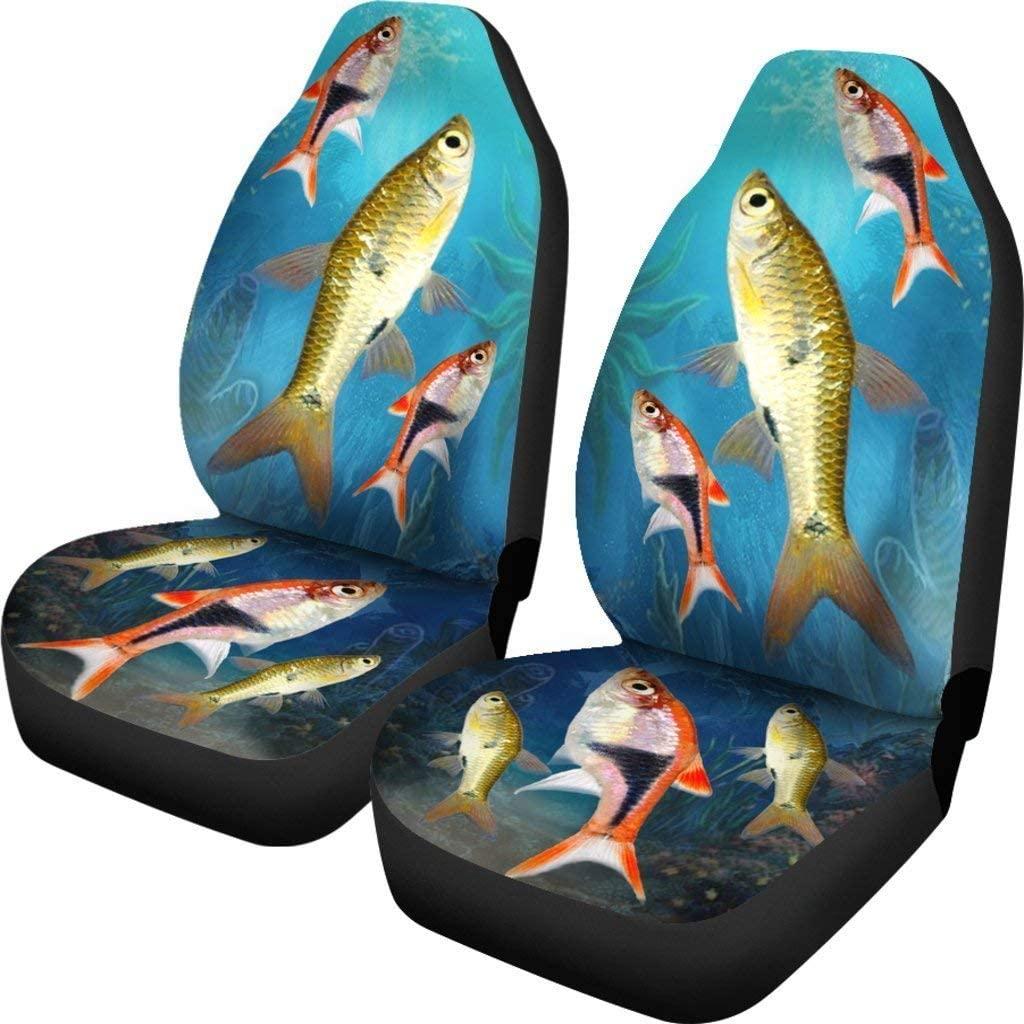 Paws With Attitude Seluang Fish (Rasbora) Print Car Seat Covers