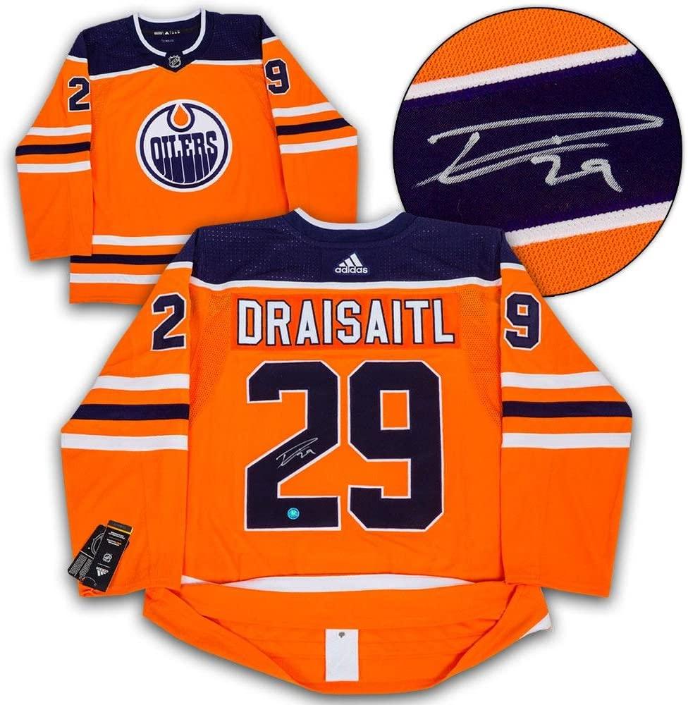 Autographed Leon Draisaitl Jersey - Adidas - Autographed NHL Jerseys