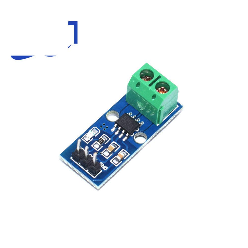 GalaxyElec New 20A Hall Current Sensor Module ACS712 Model 20A in Stock 10pcs A13
