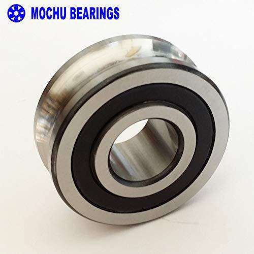 Ochoos 1PCS LFR5206-25NPP LFR 5206-25 NPP Track Rollers Double Row Angular Contact Ball Bearings Gothic Arch Raceway Groove