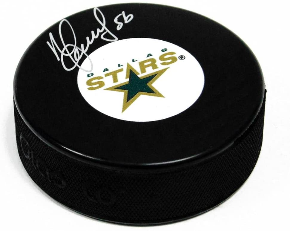 Autographed Sergei Zubov Puck - Autographed NHL Pucks