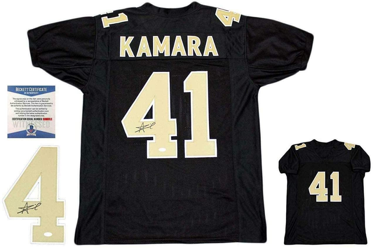 Signed Alvin Kamara Jersey - Beckett - Beckett Authentication - Autographed NFL Jerseys