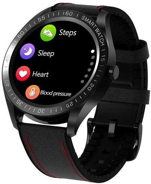 CAISYE Activity Trackers, Touch Screen Fitness Tracker Watch with Heart Rate and Sleep Monitor Waterproof Pedometer for Men Women