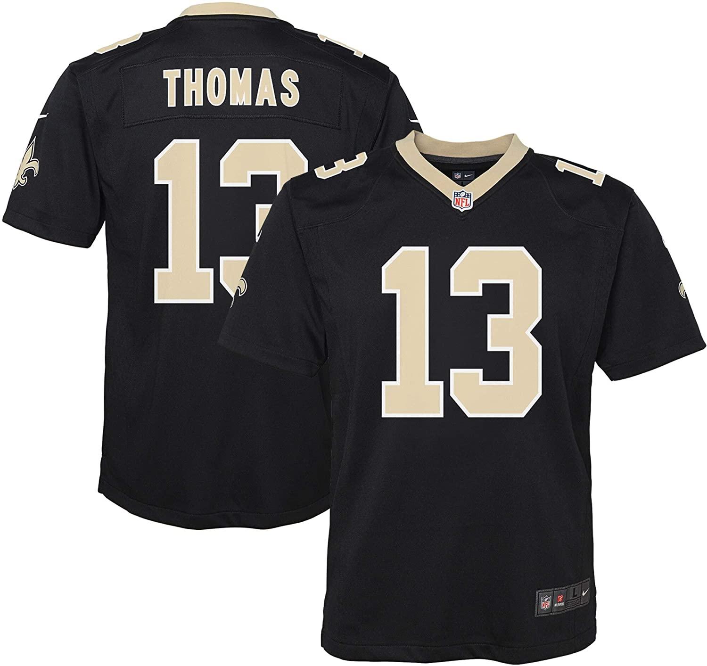 Nike Michael Thomas New Orleans Saints Youth Boys Game Jersey - Black