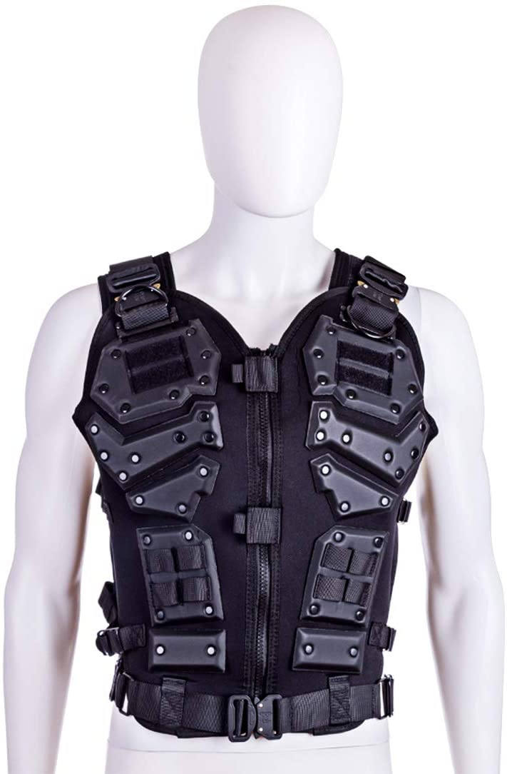 WST Kong Kim Military Tactical Vest 600D Nylon Airsoft Paintball Vest