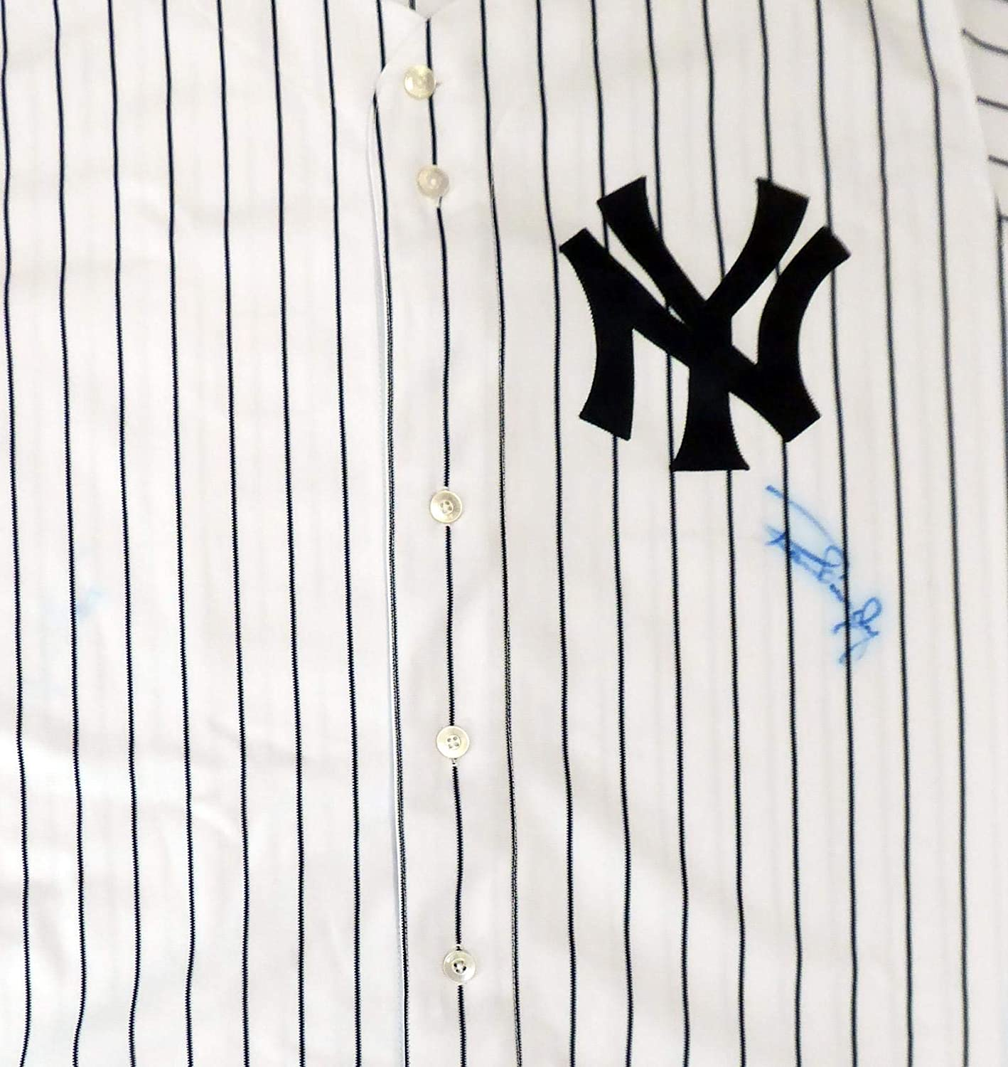 Autographed Ron Guidry Jersey - Majestic Size 52 Beckett BAS #S99741 - Beckett Authentication - Autographed MLB Jerseys