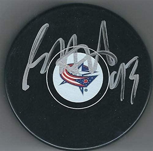 Autographed Scott Hartnell Hockey Puck - Autographed NHL Pucks