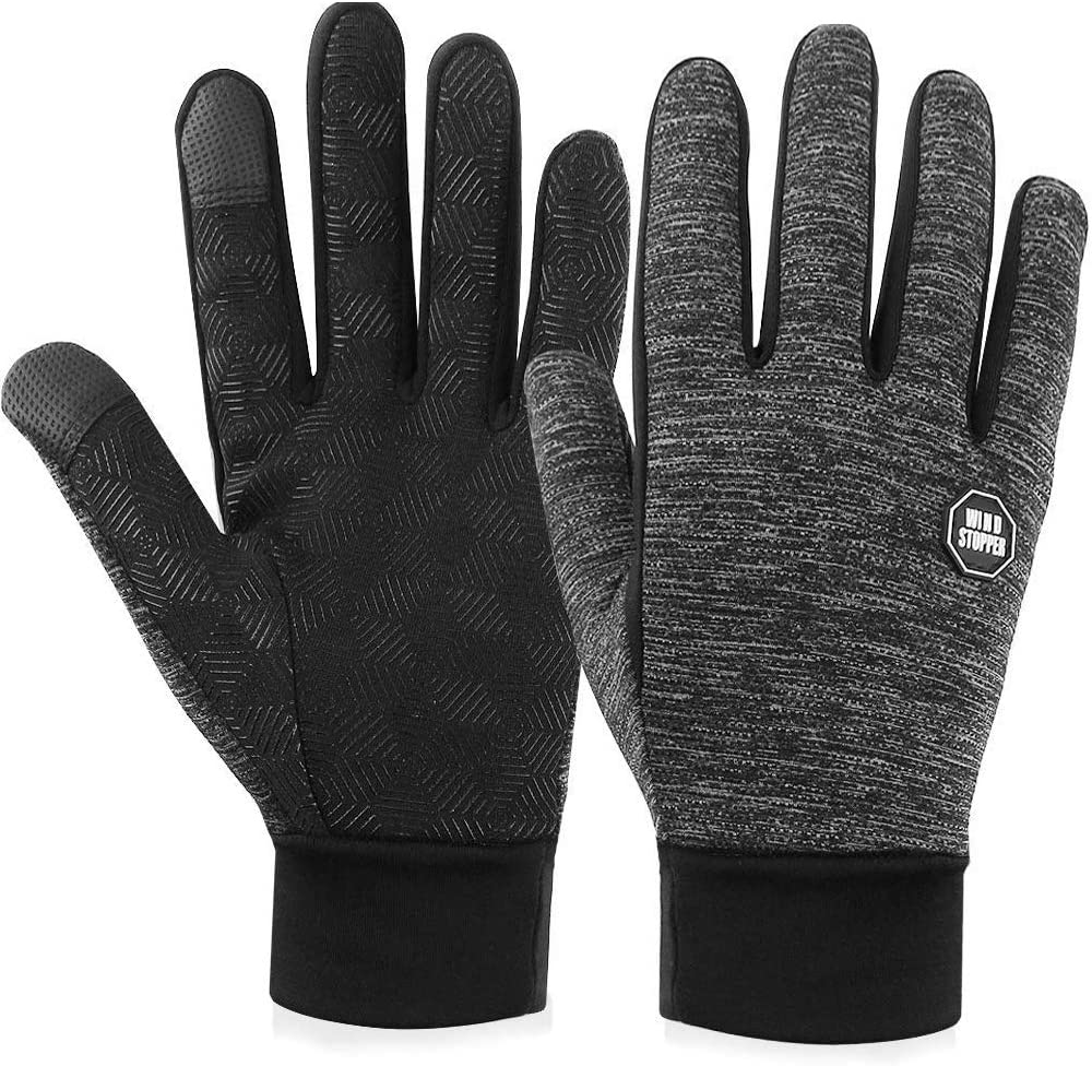 SeeTopTu Winter Touch Screen Gloves Winter Gloves Anti-Slip Thermal Gloves Driving Gloves for Men and Women