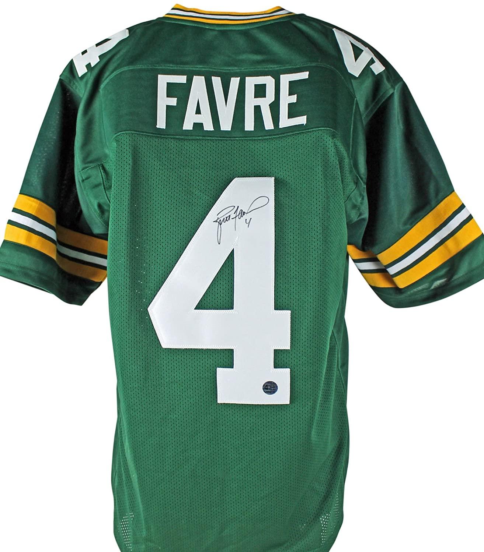 Packers Brett Favre Authentic Signed Green Jersey w/Favre Hologram & COA