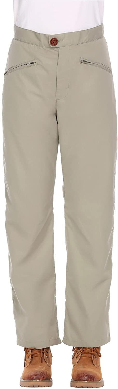 Guteer Women's Outdoor Quick Dry Cargo Pants Lightweight Waterproof Hiking Mountain Trousers