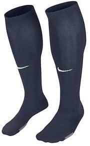 Nike Park IV Soccer Sock, Large, Navy w/White Swoosh